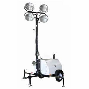 Renta de Torre de iluminación (motor a diesel) en Saltillo